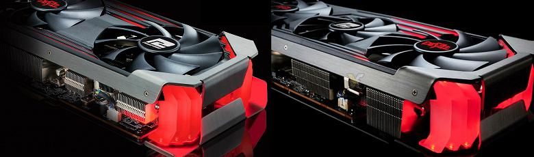 Опубликованы первые изображения видеокарт PowerColor Radeon RX 6600 XT Red Devil и Hellhound