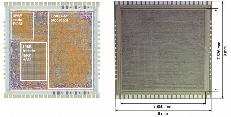 PlasticArm  гибкий микропроцессор из аморфного кремния
