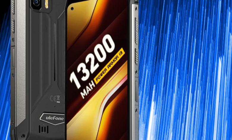 Неубиваемый смартфон с рекордно большим аккумулятором. Опубликованы характеристики Ulefone Power Armor 13