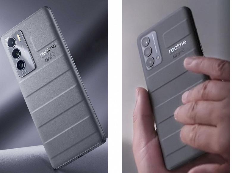Два разных смартфона линейки Realme GT Master Edition показали вживую: опубликованы фото и видео
