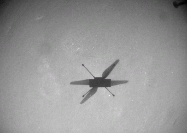 Стало доступно видео самого сложного полёта марсианского вертолёта Ingenuity