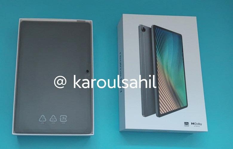 Экран AMOLED диагональю 10,4 дюйма и аккумулятор емкостью 7100 мА·ч за 17000 рублей. Живое фото, характеристики и цена планшета Realme Pad
