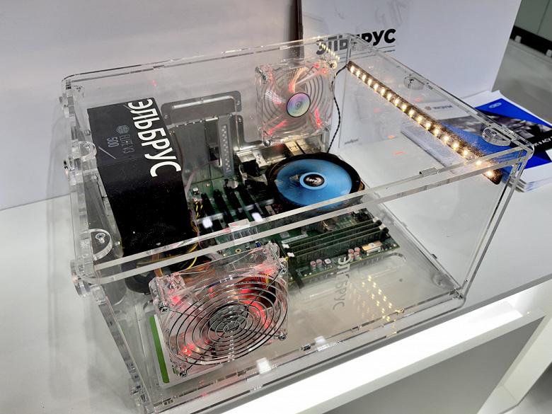 В России представили первый бюджетный компьютер на базе процессора «Эльбрус-2С3»