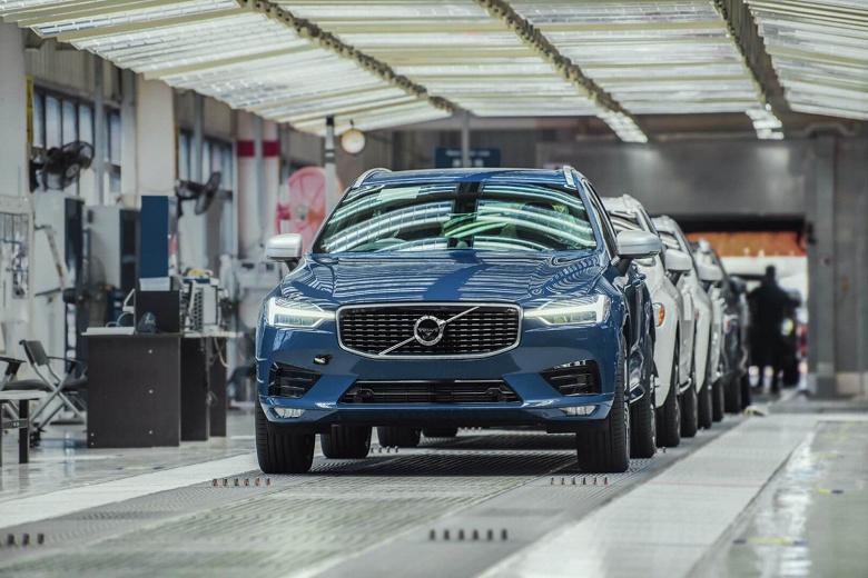 Volvo приостанавливает производство на заводе в Гётеборге: на это есть две причины