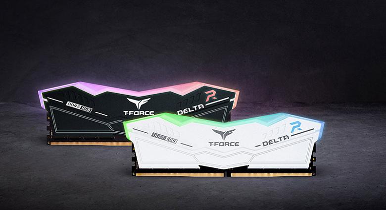 Модули памяти T-Force Delta RGB DDR5 должны стать доступны для заказа в следующем квартале