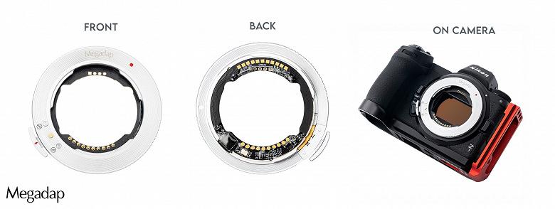 Адаптер Megadap ETZ11 поддерживает автофокусировку, управление диафрагмой и стабилизацию изображения при установке объективов с креплением Sony E на камеры Nikon Z