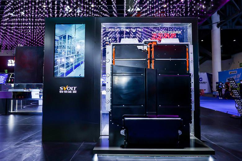 По словам китайской компании Svolt, она первой представила серийный беcкобальтовый аккумулятор