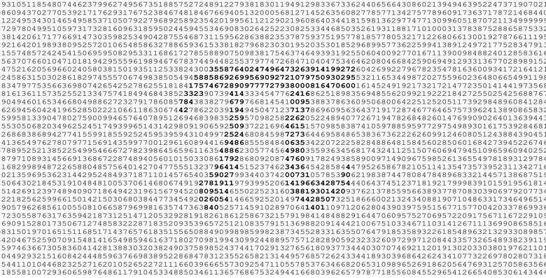 Два процессора AMD позволили вычислить число Пи с невиданной ранее точностью