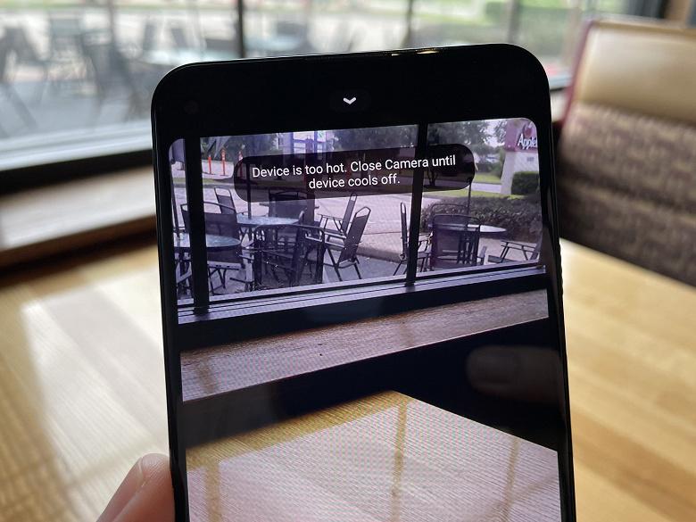 Новый смартфон Google Pixel — новая проблема. Pixel 5a 5G перегревается при съёмке видео