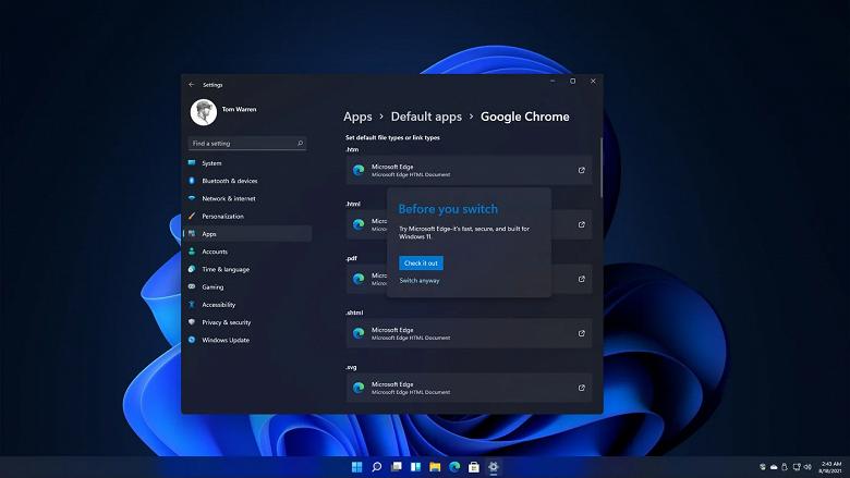 Решение Microsoft сильно усложнить процедуру замены браузера по умолчанию в Windows 11 вызвало негативную реакцию: комментарии разработчиков Chrome и других компаний