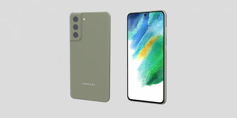 Samsung Galaxy S21 FE показали в 3D со всех сторон и во всех пяти цветах корпуса