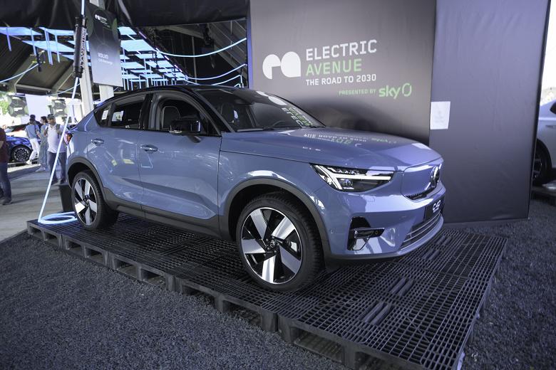 Volvo привезёт в Россию свои электромобили