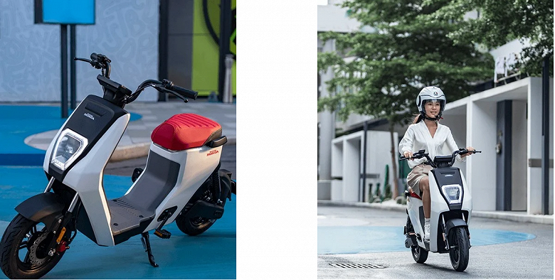 Представлен лёгкий электроскутер Honda дешевле $500
