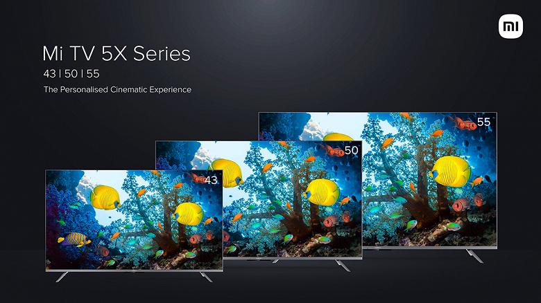 Доступные 4K-телевизоры Xiaomi Mi TV 5X с поддержкой Dolby Vision, HDR10, Dolby Atmos и DTS-HD поступают в продажу в Индии