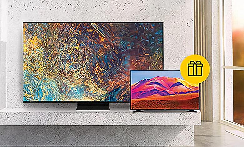 Samsung предлагает два телевизора по цене одного в России