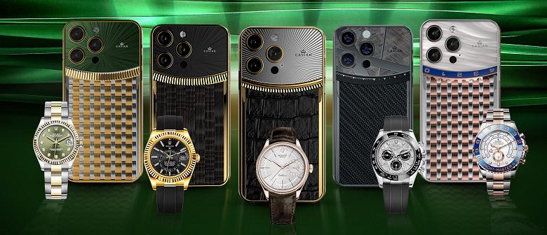 В России предлагают iPhone 13 Pro в стиле Rolex — вчетверо и даже вдесятеро дороже
