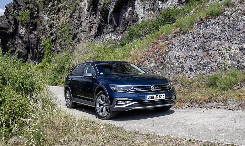 Новый универсал Volkswagen Passat Alltrack прибыл в Россию