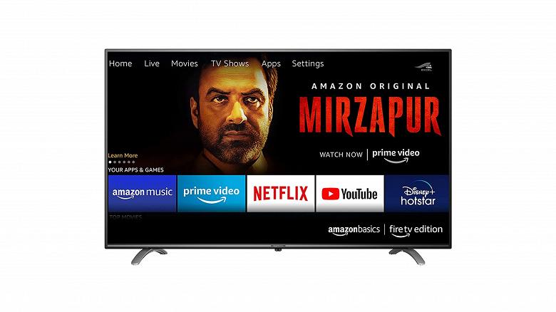 Телевизоры производства Amazon с поддержкой Alexa выйдут в октябре