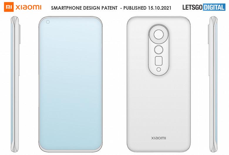 Совершенно новый флагман Xiaomi с уникальным дизайном показали на официальных патентных изображениях