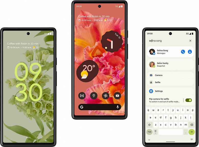 Вместе с Google Pixel 6 представят гибкий Pixel Fold, умные часы Pixel Watch и колонки Nest