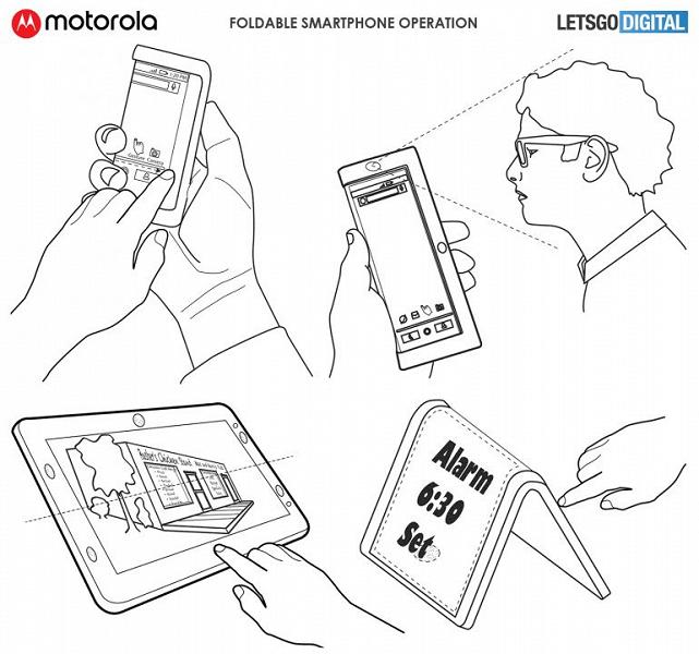 Motorola-smartphone-pieghevole-brevetto.