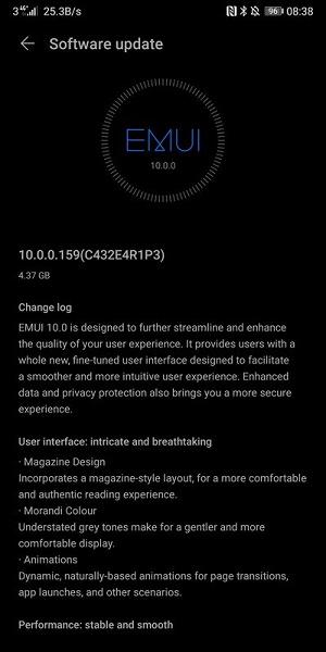 Huawei обновила европейские Mate 10 Pro и P20 Pro до EMUI 10