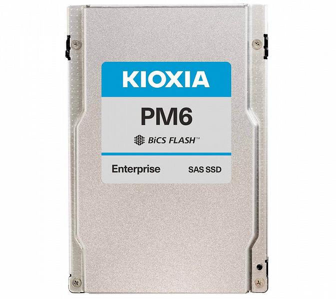 Kioxia выпускает первые в отрасли твердотельные накопители с интерфейсом SAS 24G