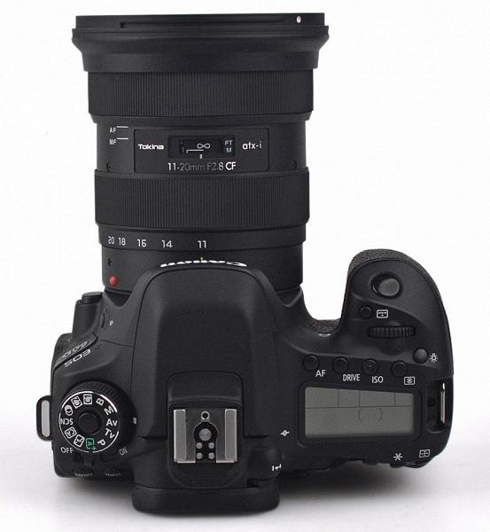 Появилась предварительная информация об объективе Tokina atx-i 11-20mm F2.8  CF, включая цену