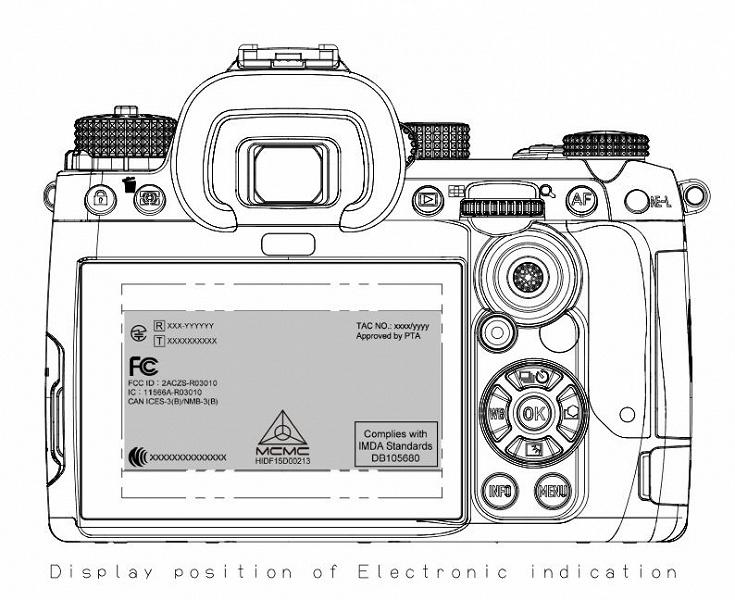 Новый флагман линейки цифровых зеркальных камер Pentax K прошел сертификацию FCC