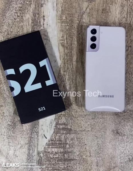 Видео дня: Samsung Galaxy S21 вместе с коробкой вживую за несколько дней до анонса
