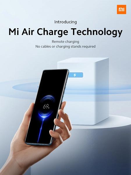 Представлена настоящая зарядка по воздуху Xiaomi Mi Air Charge