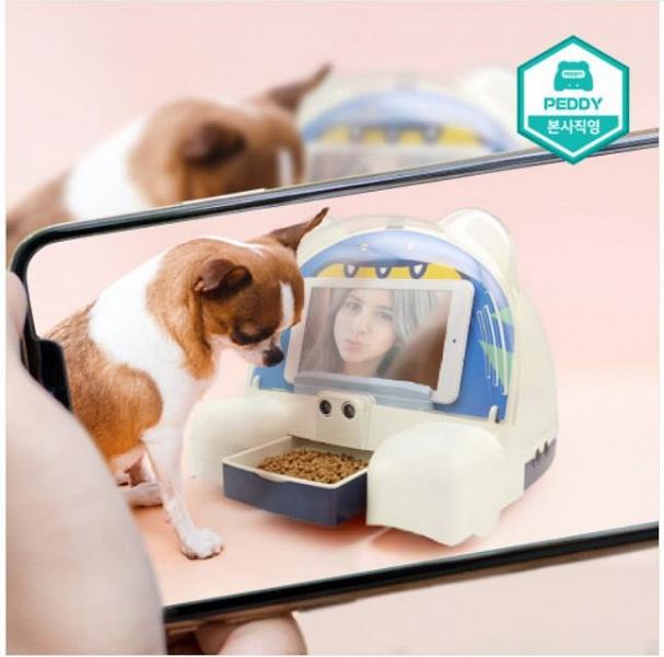 Робот Peddy позаботится о домашних животных, пока хозяина нет дома