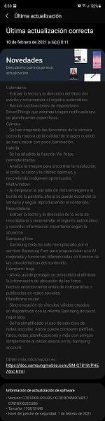 Бюджетный флагман Samsung Galaxy S20 FE первым получил большое обновление с новыми функциями, как у Galaxy S21