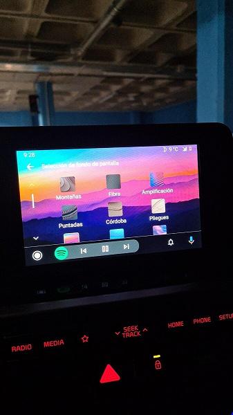 Мечты сбываются: на Android Auto пришли долгожданные обои