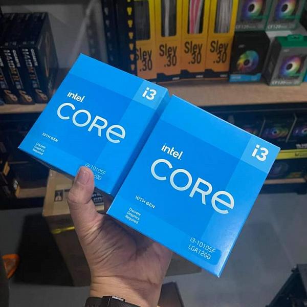 Так выглядят новые старые процессоры Intel. Младший Core i3-10105F не получит новую архитектуру