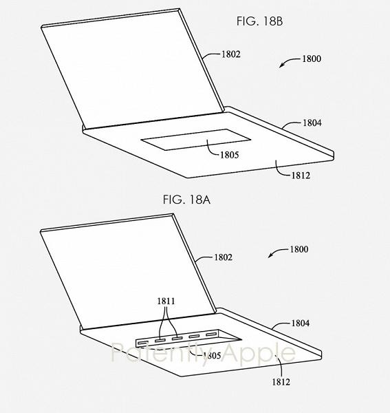 Apple пытается запатентовать выдвижную опору для MacBook, которая заодно улучшает вентиляцию