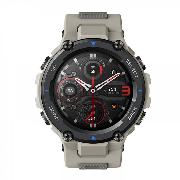 Производитель Xiaomi Mi Band начинает продажи умных часов Amazfit T-Rex Pro