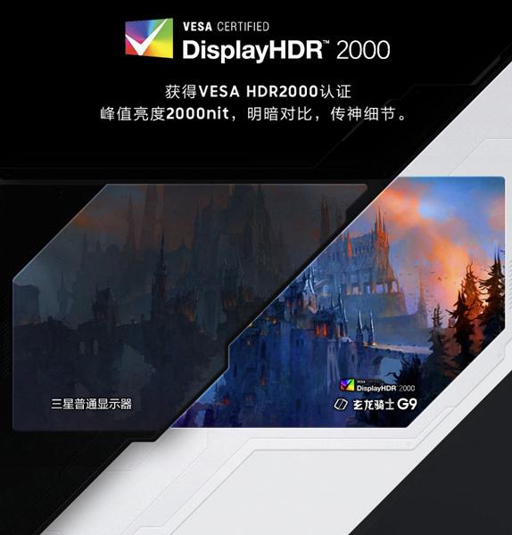 Уникальный монитор Samsung Odyssey G9 с панелью, как у лучшего телевизора всех времён, характеризуется невероятной пиковой яркостью