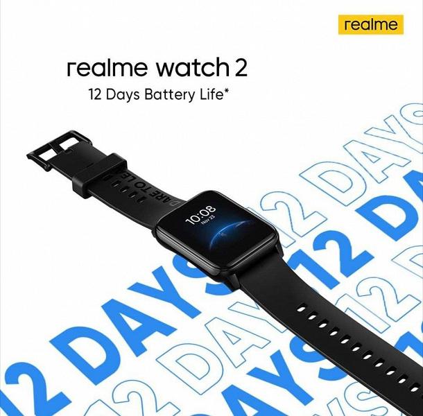 Более 90 режимов тренировок, датчики SpO2 и ЧСС, IP68, 12 суток автономной работы и режим медитации. Это умные часы Realme Watch 2