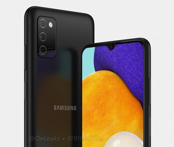 Изображение и видео смартфона Samsung следующего поколения. Galaxy A03s будет очень похож на предшественника