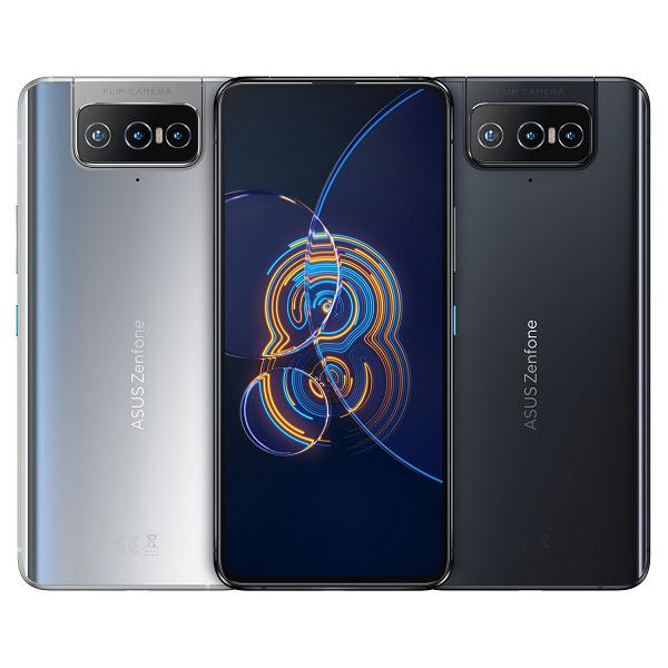 Представлен смартфон Asus Zenfone 8 Flip без фронтальной камеры, с аккумулятором на 5000 мАч, стереодинамиками и NFC