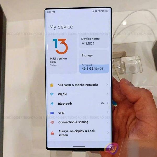 Интригующий настоящий, рабочий Xiaomi Mi Mix 4 засветился в сети и оказался Samsung Galaxy Note10