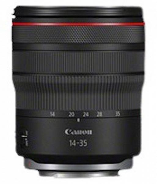 Появилось первое изображение объектива Canon RF 14-35mm f/4L IS USM