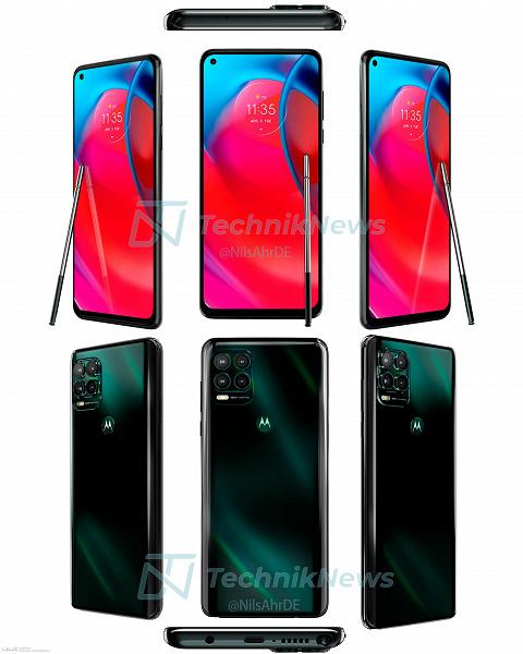 Американский бренд, стилус, 5G и огромный экран. MotorolaMotoG Stylus 5G почти полностью рассекречен до анонса