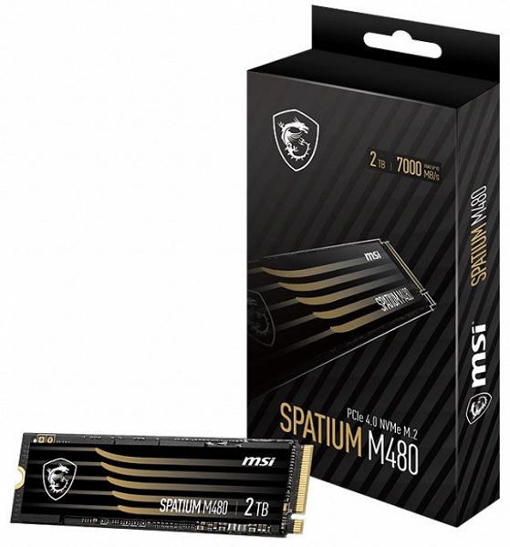 Представлены потребительские SSD MSI Spatium