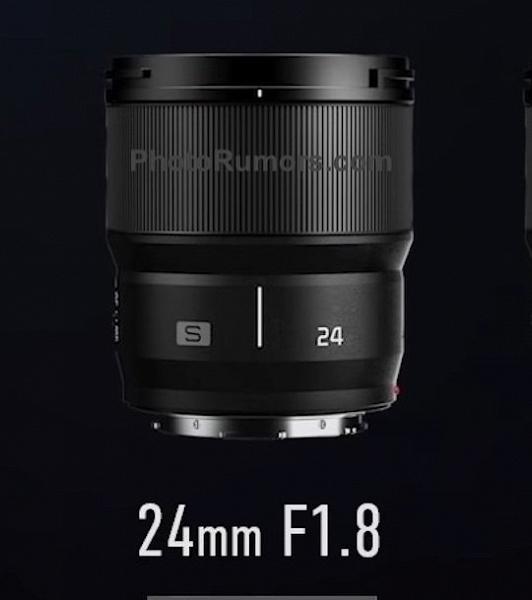 Появились основные спецификации объектива Panasonic Lumix S 24mm f/1.8