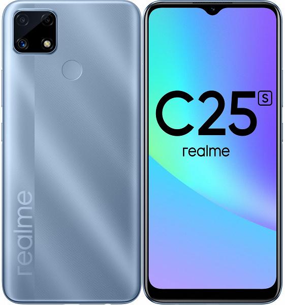 6000 мАч, тройная камера, NFC и Android 11 из коробки. В России выпустили Realme C25s