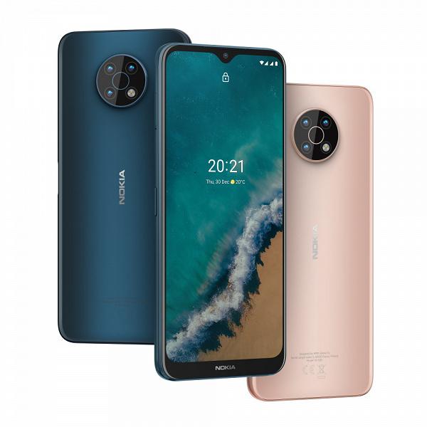 Огромный экран, 5000 мАч, 48 Мп, NFC, 5G и Android 11. Nokia G50 уже можно заказать в России