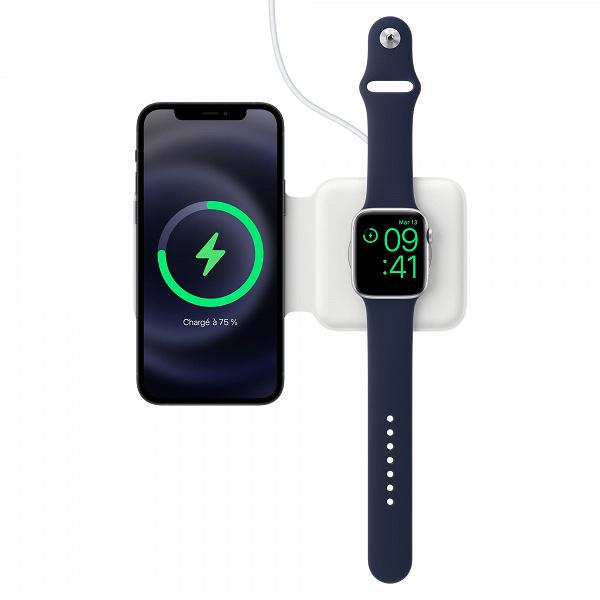 Apple в своём стиле: дорогой адаптер MagSafe Duo не поддерживает быструю зарядку Apple Watch Series 7