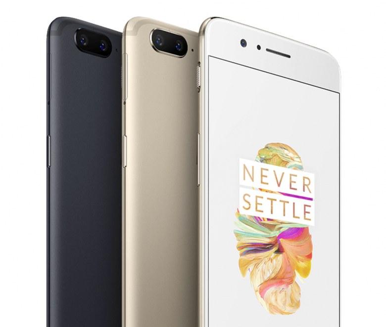 Обзор OnePlus 5, цвета